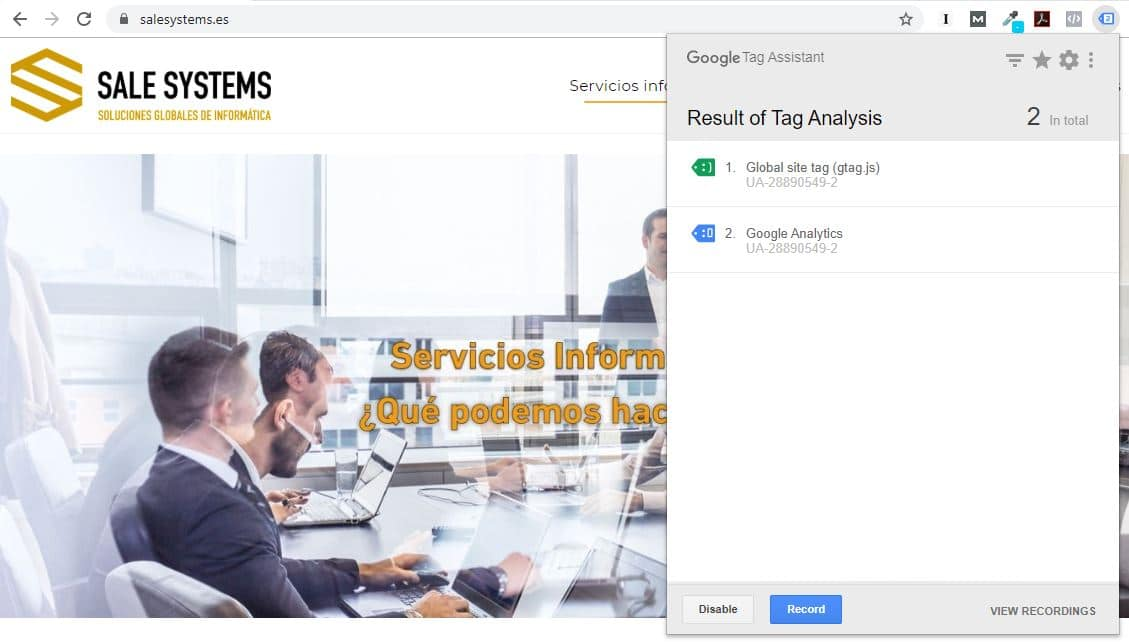 Tag analytics Sale Systems