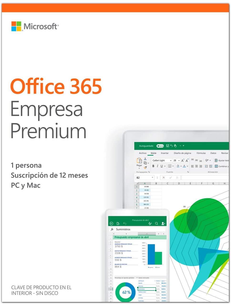 comprar office 365 empresa premium