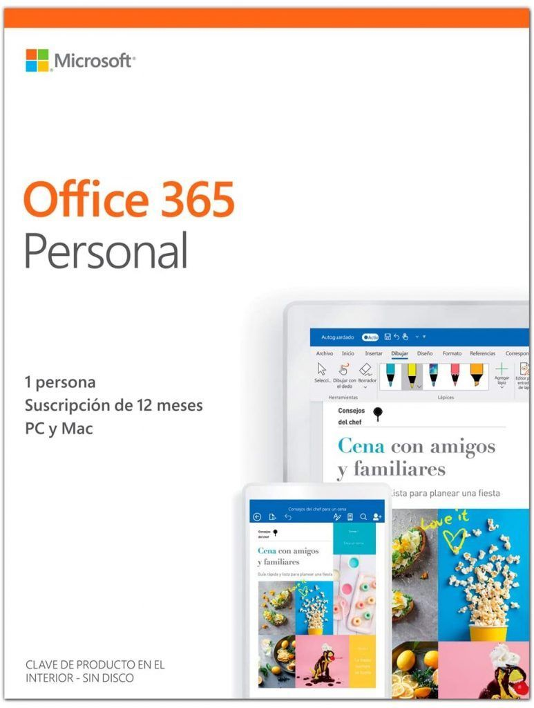 comprar office 365 personal
